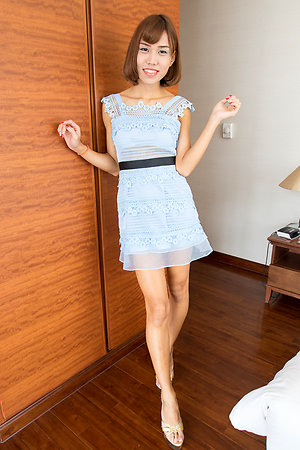 Skynny asian shemale Noey Girlfriend Dress Versatile BB