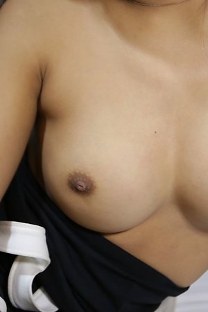 20yo busty Thai shemale sucks and fucks a big white cock after stripping